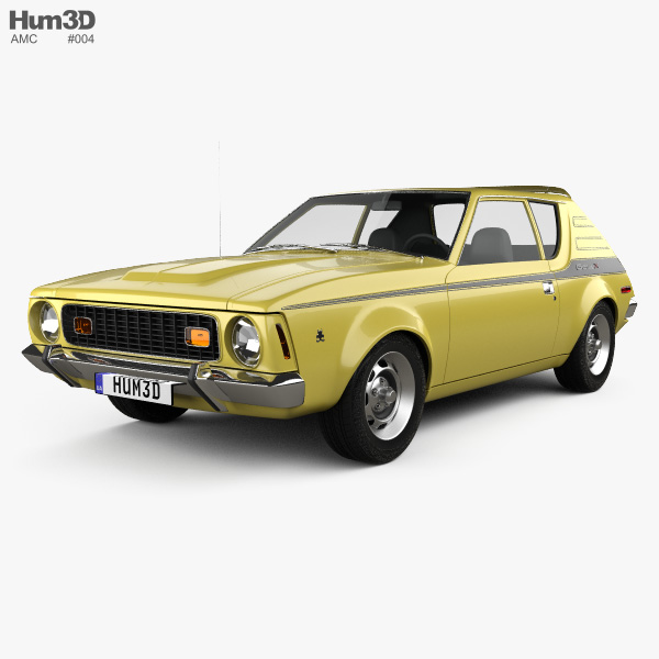 AMC Gremlin 1970 3D model