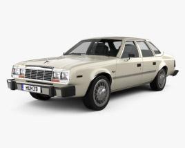 3D model of AMC Concord sedan 1980