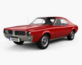 AMC Javelin 1968 3D model