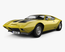 3D model of AMC AMX/3 1970