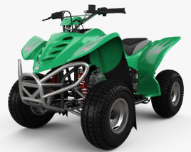 3D model of APC Edge 90 ATV 2018