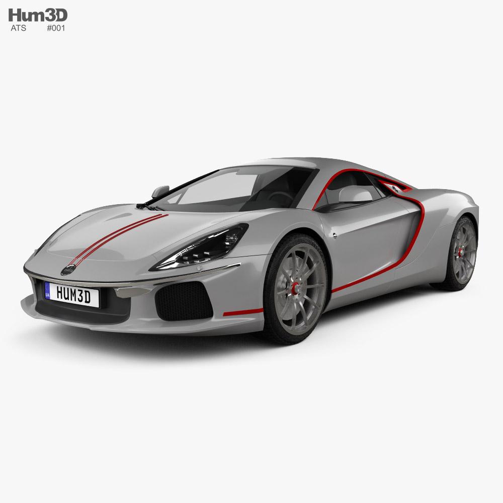 ATS GT 2021 3D model