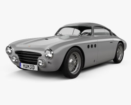 Abarth 205a Vignale berlinetta 1950 3D model
