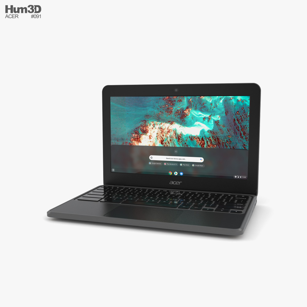 Acer Chromebook 511 C741 Modelo 3D