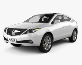 3D model of Acura ZDX 2012