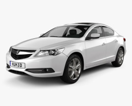 3D model of Acura ILX 2013