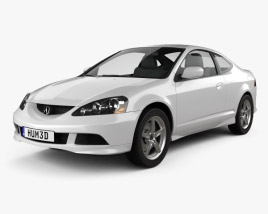 Acura RSX Type-S 2005 3D model