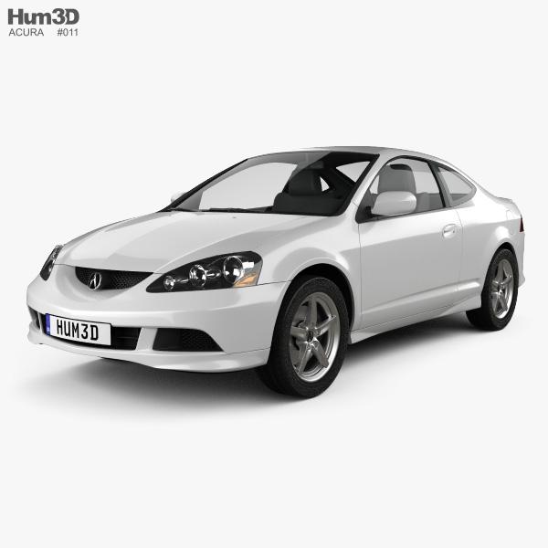 Acura RSX Type-S 2005 3D model