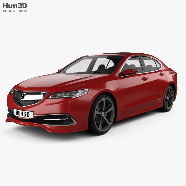 Acura TLX Concept 2015 3D model