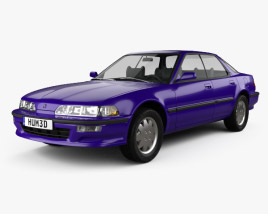 3D model of Acura Integra 1990