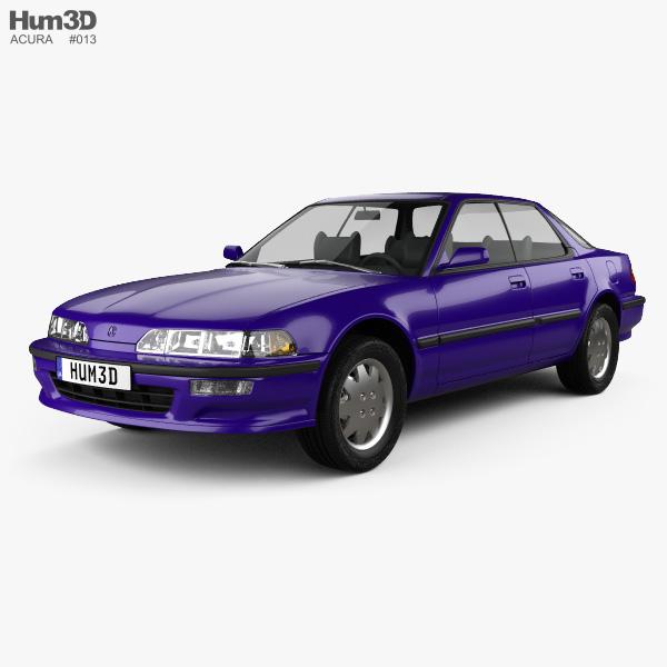 Acura Integra 1990 3D model