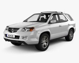 Acura MDX 2003 3D model