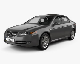 3D model of Acura TL 2007