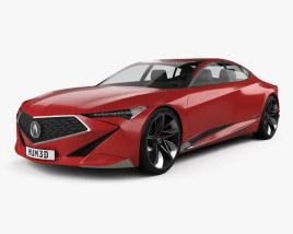 Acura Precision 2016 3D model
