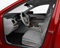 Acura RLX Sport Hybrid SH-AWD with HQ interior 2017 3d model seats