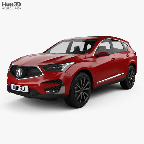 3D model of Acura RDX Prototype 2018