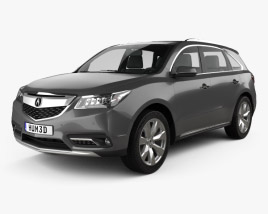 3D model of Acura MDX RU-spec 2014