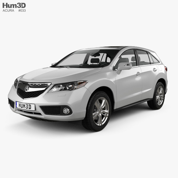 3D model of Acura RDX RU-spec 2014