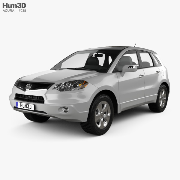 3D model of Acura RDX 2006