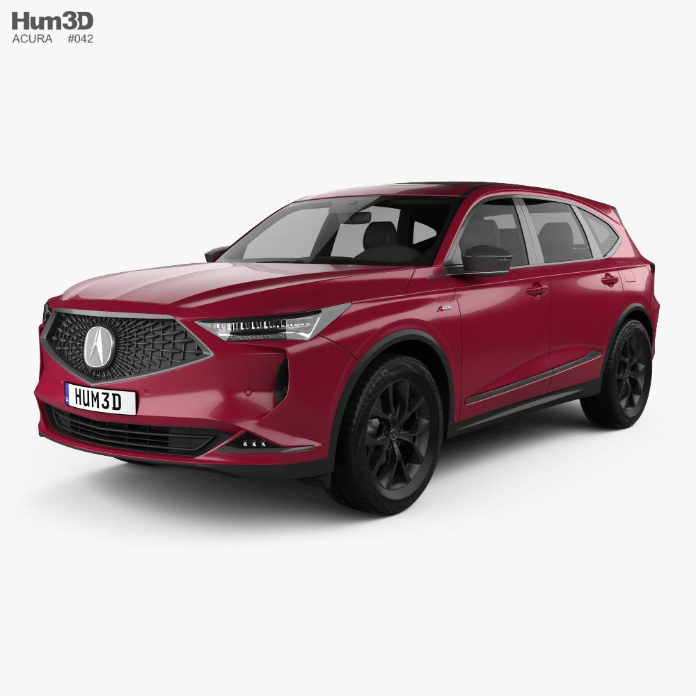 Acura MDX A-Spec US-spec 2021 3D model