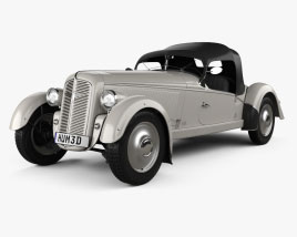 Adler Trumpf Junior Sport Roadster 1935 3D model
