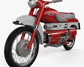 3D model of Aermacchi Chimera 1957