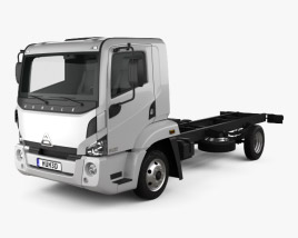 3D model of Agrale 6500 Chassis Truck 2012