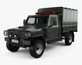 Agrale Marrua AM 200 Policia 2012 3D model