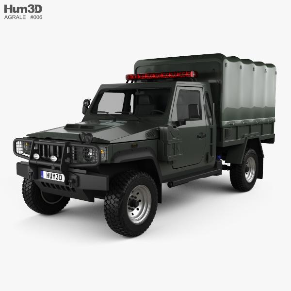 Agrale Marrua AM 200 Policia 2012 Modello 3D