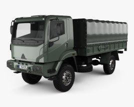 3D model of Agrale Marrua AM 41 VTNE Truck 2013