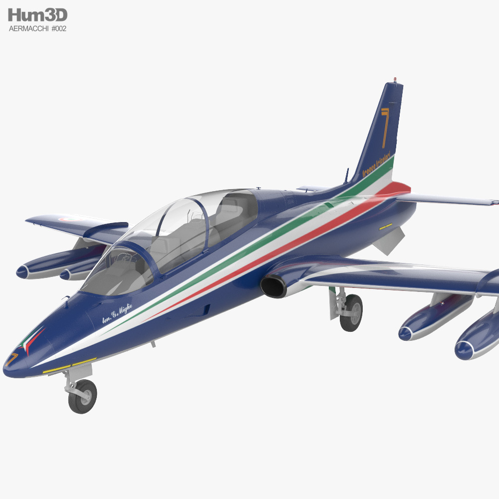 Aermacchi MB-339PAN 3D model