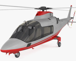 3D model of AgustaWestland AW109