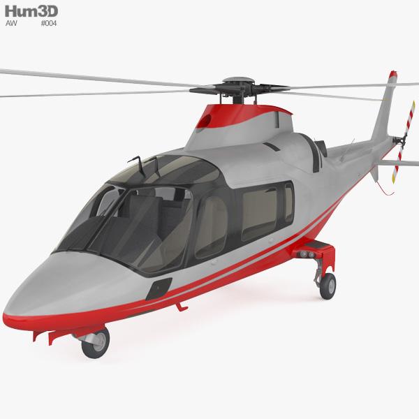 3D model of AgustaWestland AW109