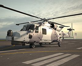 3D model of AgustaWestland AW159 Wildcat