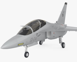 3D model of Alenia Aermacchi M-346 Master