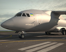 3D model of Antonov An-178