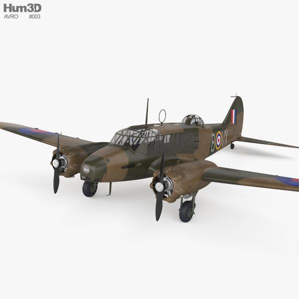 3D model of Avro Anson