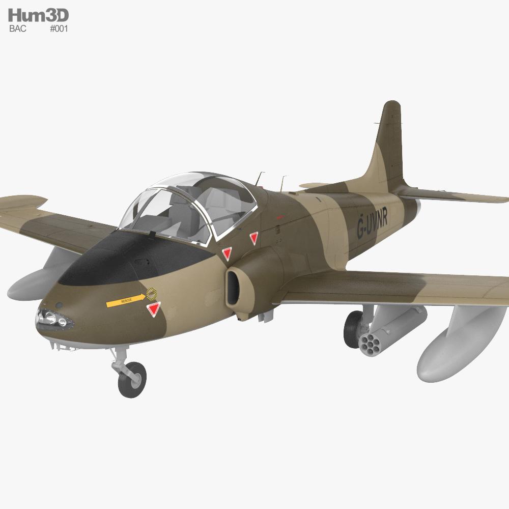 BAC 167 Strikemaster 3D model