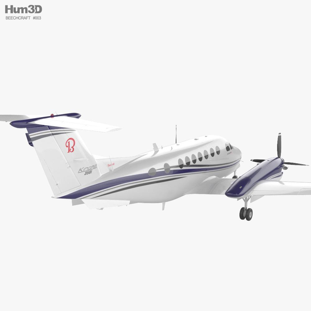 Beechcraft King Air 350i 3d model