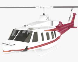 3D model of Bell 214ST