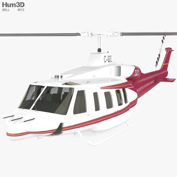 Bell 214ST 3D model