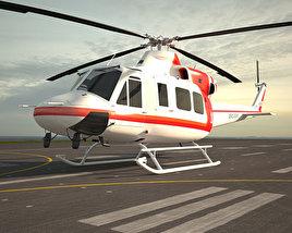 3D model of Bell 412