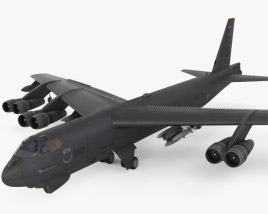 3D model of Boeing B-52 Stratofortress