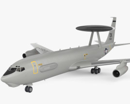3D model of Boeing E-3 Sentry