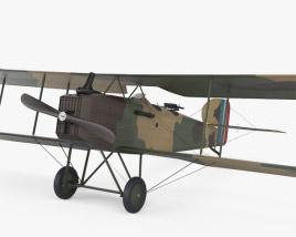 3D model of Breguet 14