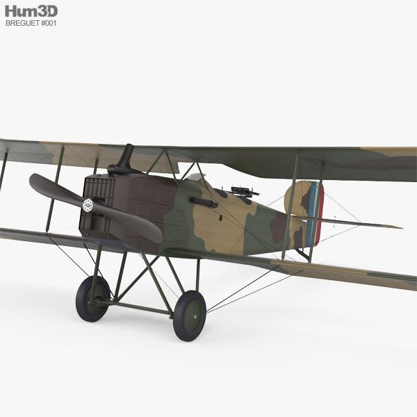 Breguet 14 3D model