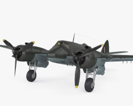 3D model of Bristol Beaufighter