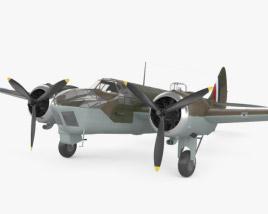 3D model of Bristol Blenheim