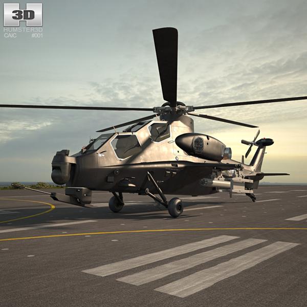 CAIC WZ-10 3D model