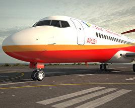3D model of Comac ARJ21